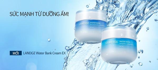 Kem Dưỡng Ẩm Chuyên Sâu Laneige Water Bank Moisture Cream EX 50ml