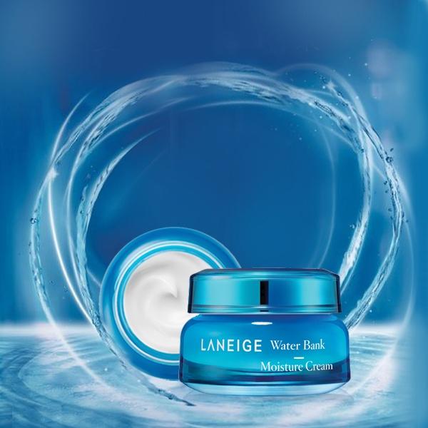 Bao bì cũ của Kem Dưỡng Ẩm Chuyên Sâu Laneige Water Bank Moisture Cream EX 50ml