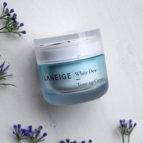 Kem Dưỡng Trắng Nâng Tone Da Laneige White Dew Tone-Up Cream 50ml (Phiên Bản Mới 2018)