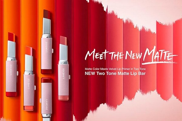 Son Lì 2 Tone Màu Laneige Two Tone Matte Lip Bar