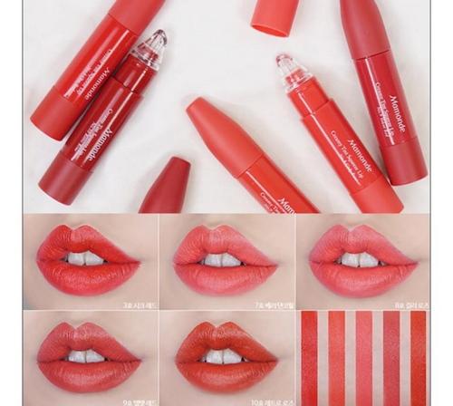 Bảng màu Son Mamonde Creamy Tint Squeeze Lip