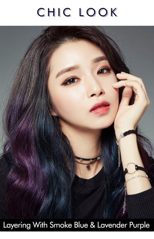 Thuốc Nhuộm Tóc 7 Ngày Missha 7 Days Coloring Hair Treatment ( Màu Gold Yellow, Red Orange, Lavender Purple)