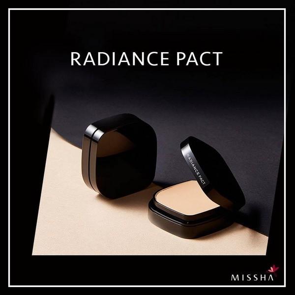 Phấn Phủ Chống Nắng Kiềm Dầu Missha Radiance Pact SPF27 PA++