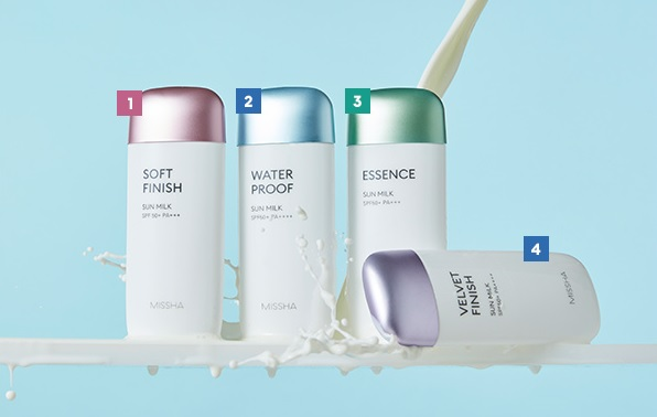 Sữa Chống Nắng Dưỡng Ẩm Missha All-Around Safe Block Essence Sun Milk SPF50+/PA+++ 70ml