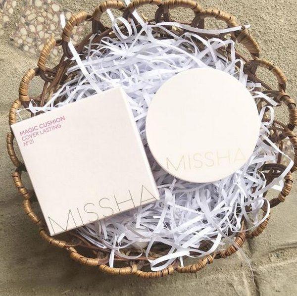 Phấn Nước Kiềm Dầu Missha M Magic Cushion Cover Lasting SPF50+ PA+++