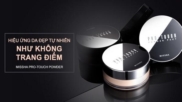 Phấn Phủ Dạng Nén Siêu Mịn Và Giữ Ẩm Cho Da Missha Pro-Touch Powder Pact SPF25/PA++