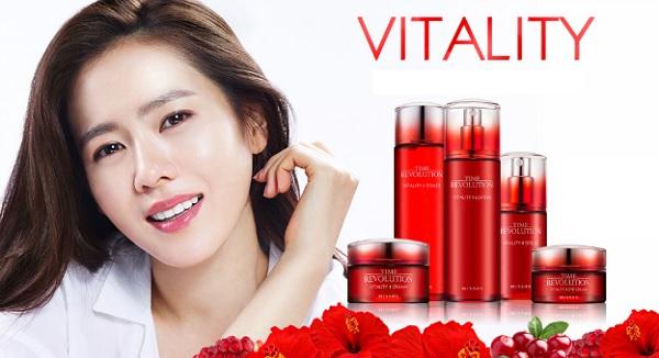 Bộ sản phẩm Tinh Chất Cải Thiện Nếp Nhăn Missha Time Revolution Vitality Serum 40ml