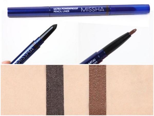 Bút Kẻ Mắt Chống Thấm Nước Missha Ultra Powerproof Pencil Liner