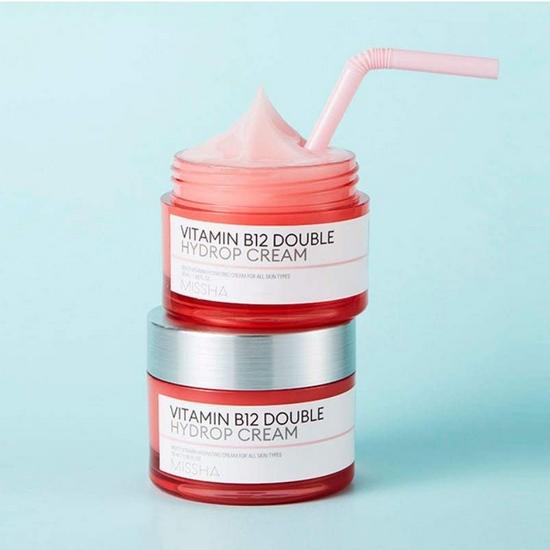Mô tả Kem Dưỡng Missha Vitamin B12 Double Hydrop Cream 50ml