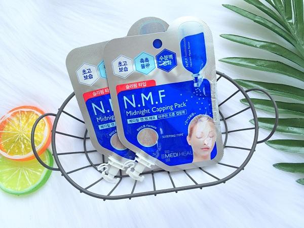 Hình ảnh thực tế Mặt Nạ Ngủ Cấp Ẩm Cho Da Mediheal N.M.F Midnight Capping Pack 15ml