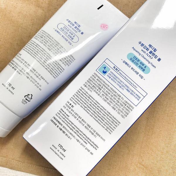 Sữa Rửa Mặt Dưỡng Ẩm Cho Da Mediheal N.M.F Aquaring Cleansing Foam 170ml
