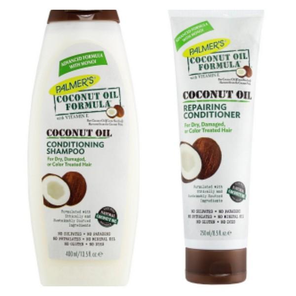 dầu xả dưỡng tóc dầu dừa Palmer's Coconut Coconut Oil Repairing Conditioner