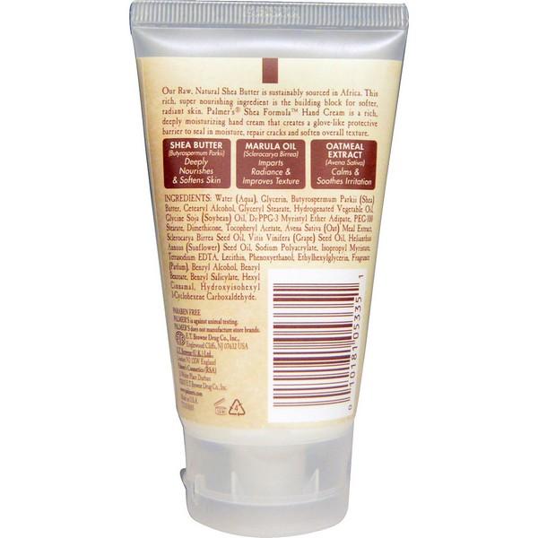 Kem dưỡng da tay giữ ẩm Palmer's Raw Shea Hand Cream