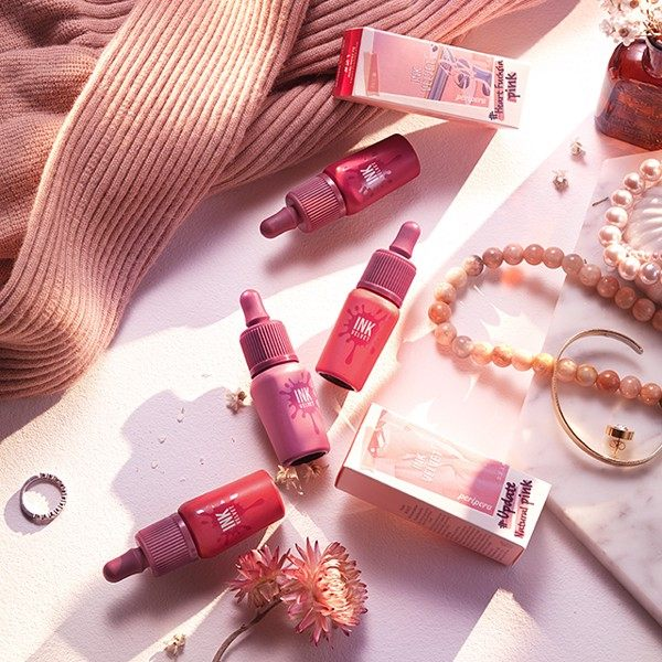 on Kem Lì Peripera Ink The Velvet Fall Collection Pink Moment (New 2018)