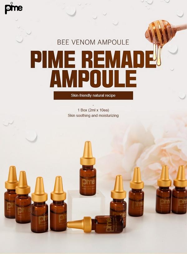 Tinh Chất Tế Bào Gốc Nọc Ong Tăng Cường Độ Ẩm Nuôi Dưỡng Làn Da Khỏe Đẹp Pime Remade Ampoule