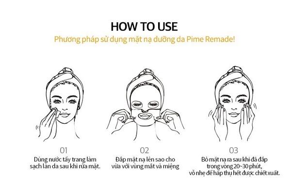 Mặt Nạ Chăm Sóc Da Chuyên Sâu Chiết Xuất Từ Nọc Ong Pime Remade Mask