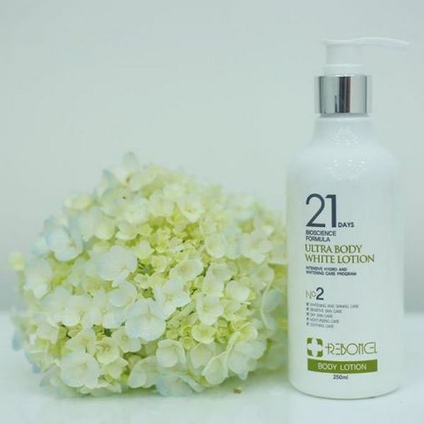 Bộ Dưỡng Trắng body ReyouCell 21 Days Bioscience Formula Perfect Body White Peeling & Lotion