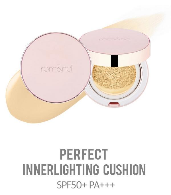 Phấn Nước Giúp Da Bóng Khỏe Romand Perfect Innerlighting Cushion