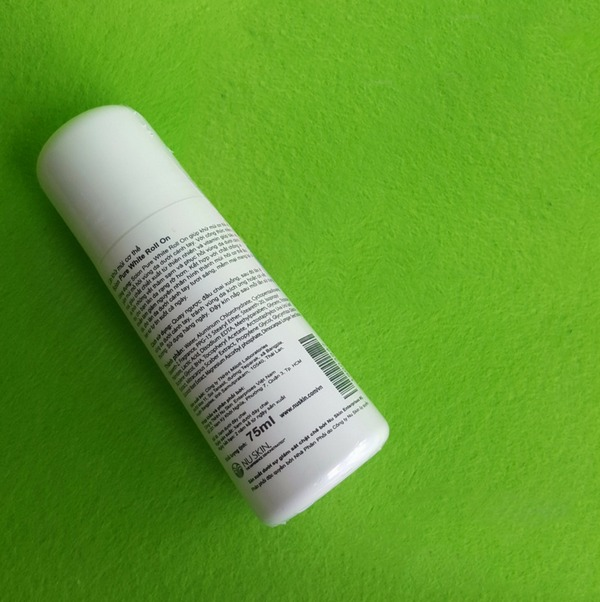 Lăn Khử Mùi Scion Nuskin White Roll On 75ml