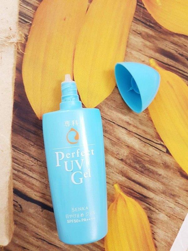 Gel Chống Nắng Senka Perfect UV Gel SPF 50+ PA++++