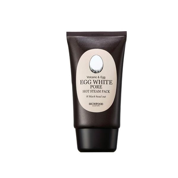 Mặt Nạ Đất Sét Dạng Nóng SkinfoodEgg White Pore Hot Steam Pack - 100g