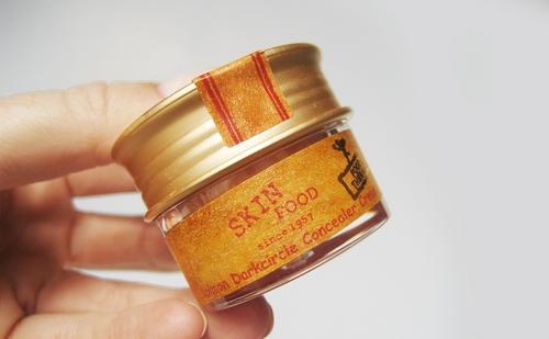 Kem Che Thâm Quầng Mắt SkinFood Salmon Dark Circle Concealer Cream#2 10g