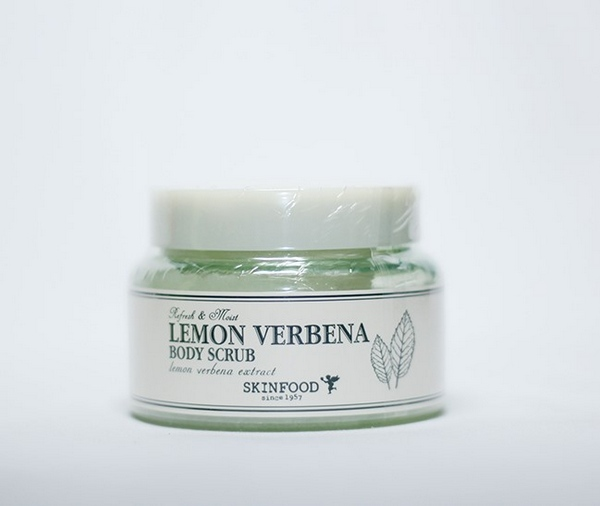 Tẩy Da Chết Dưỡng Ẩm Và Chống Lão Hóa Da Skinfood Lemon Verbena Body Scrub 320g