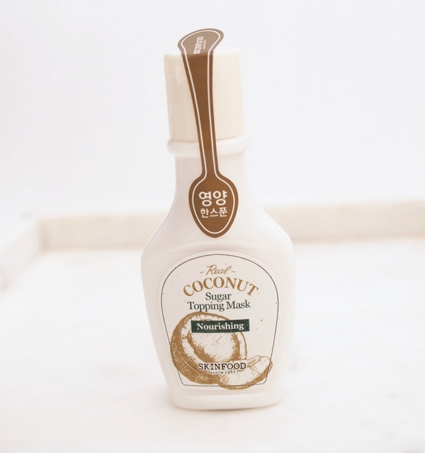 Mặt Nạ Dưỡng Ẩm Da Chiết Xuất Dừa Skinfood Sugar Topping Mask Real Coconut 50ml