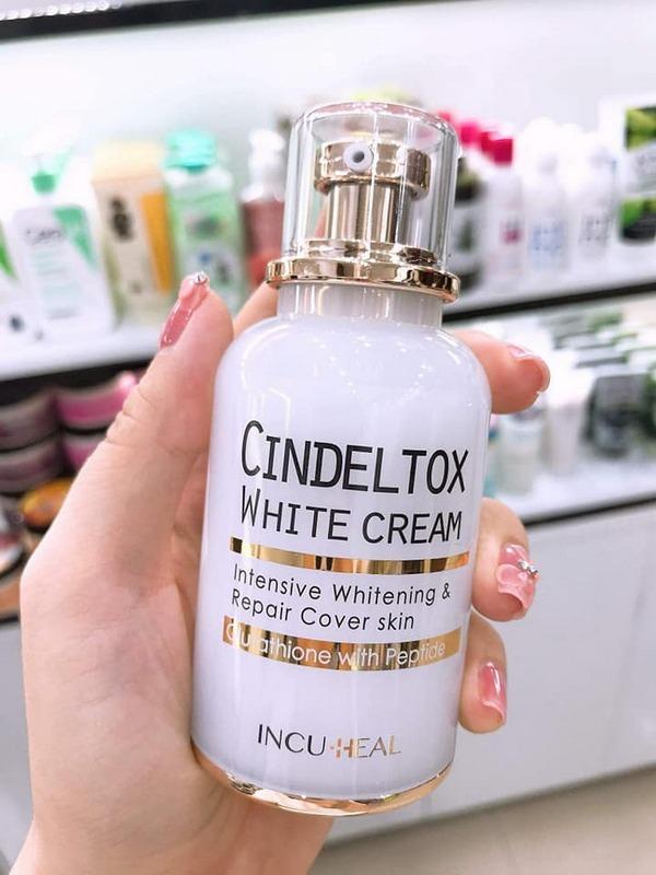 Kem Dưỡng Trắng Da Incuheal Cindel Tox White Cream
