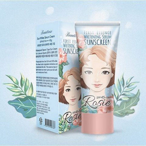 Kem Chống NắngRosie Seoul Rose First Essence Whitening Serum Sunscreen SPF45/Pa+++