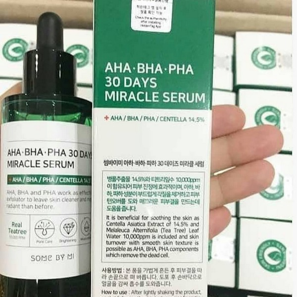 Tinh chất Trị Mụn Some By Me AHA-BHA-PHA 30 Days Miracle Serum 50ml