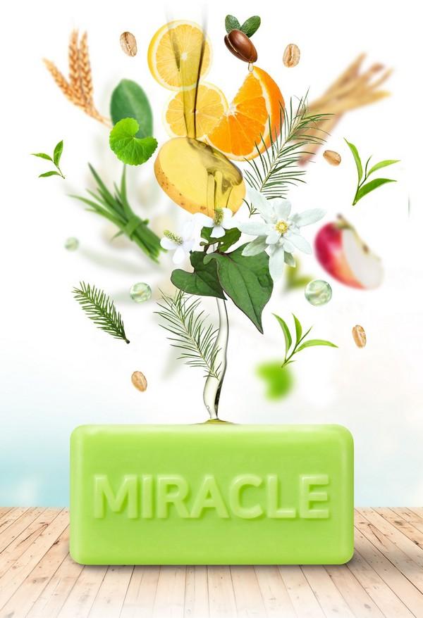 Xà Phòng Trị Mụn Some By Me AHA - BHA - PHA 30 Days Miracle Cleansing Bar