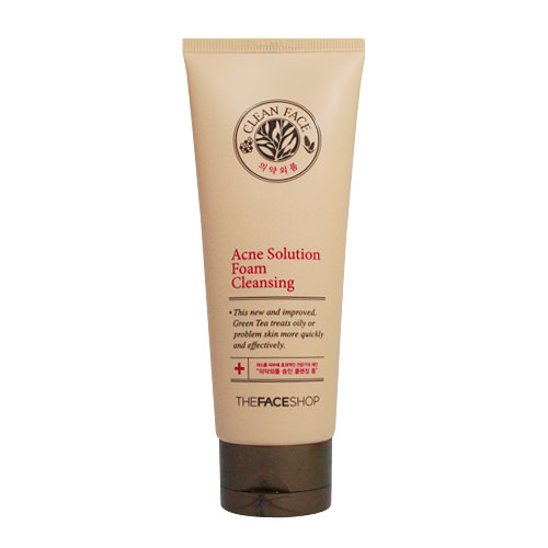 Sữa Rửa Mặt The Faceshop Clean Face Acne Solution Foam Cleansing 1