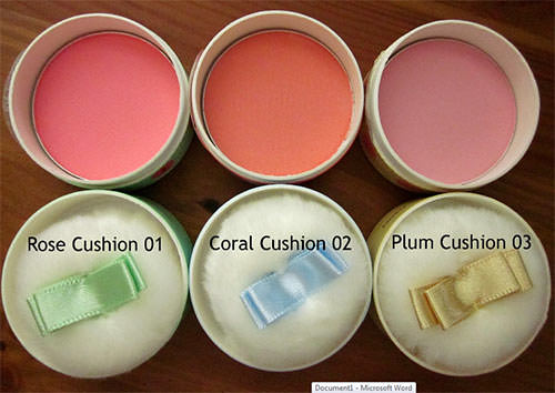 Phấn Má Hồng The Face Shop Lovely Meex Cushion Blusher 7