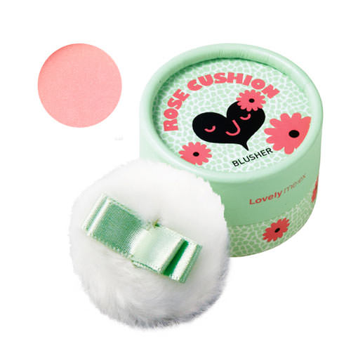 Phấn Má Hồng The Face Shop Lovely Meex Cushion Blusher 3