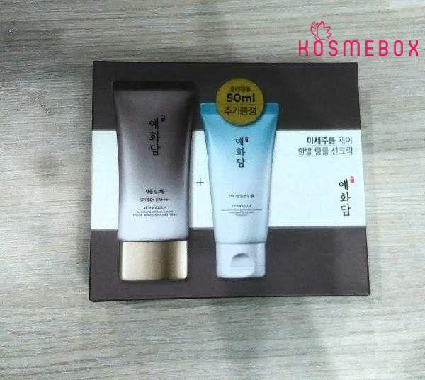 Kem Chống Nắng Từ Thảo Mộc The Face Shop Yehwadam Wrinke Care Sun Cream SPF50+ PA+++ 50ml