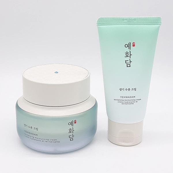 Hình ảnh thực tế Bộ Dưỡng Ẩm Chuyên Sâu Yehwadam Revitalizing Moisturizing Cream Special Gift Set (2 sản phẩm)