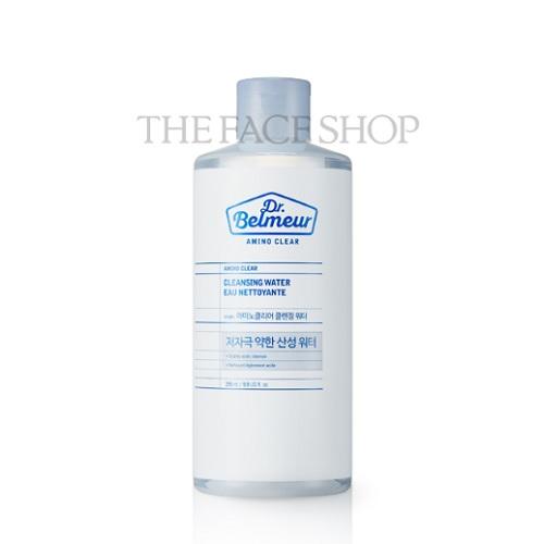 Nước Tẩy Trang Tăng Sức Đề Kháng Cho Da The Face Shop Dr. Belmeur Amino Clear Cleansing Water 295ml