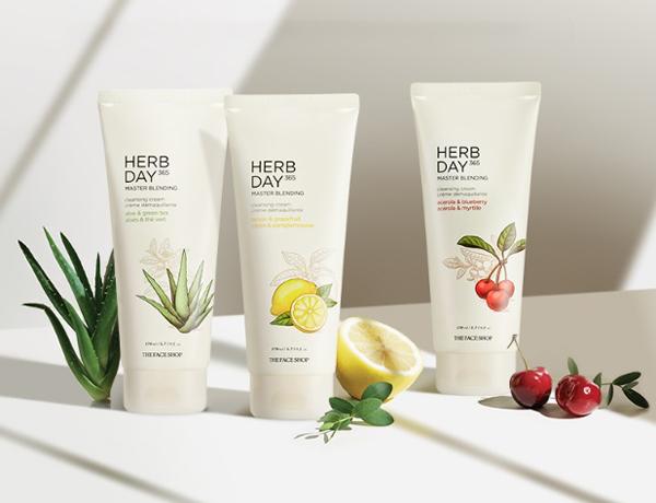 Kem Mátxa Tẩy Trang The Face Shop Herb Day Cleansing Cream 170ml