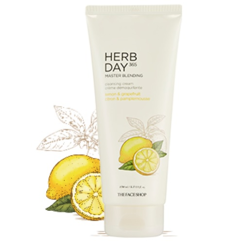 Kem Mátxa Tẩy Trang The Face Shop Herb Day Cleansing Cream 170