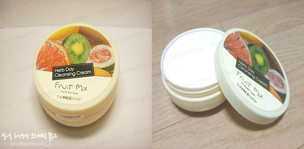 Herb day Cleansing CreamFruit Mix
