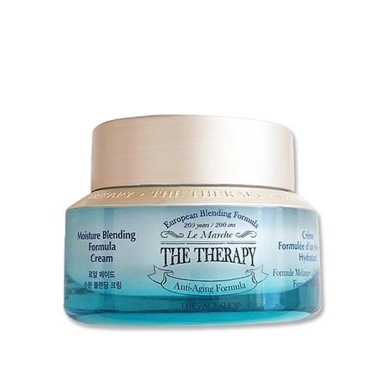 Kem Dưỡng Ẩm Chống Lão Hóa The Face Shop The Therapy Moisture Blending Formula Cream 50ml