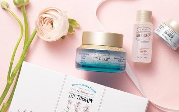 Công dụng Kem Dưỡng Ẩm Chống Lão Hóa The Face Shop The Therapy Moisture Blending Formula Cream 50ml