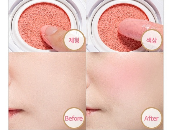 Má Hồng Dạng Nước The Face Shop Hydro Cushion Blush