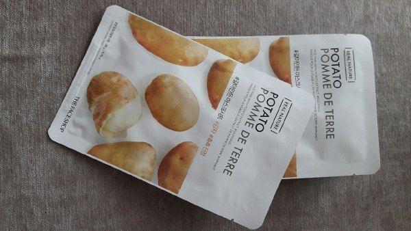 Combo 10 Mặt Nạ Giấy Khoai Tây Chống Lão Hóa Da The Face Shop Real Nature Mask Potato 20g