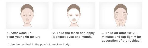 Combo 10 Mặt Nạ Giấy Rong Biển Cho Da Dầu The Face Shop Real Nature Mask Kelp 20g