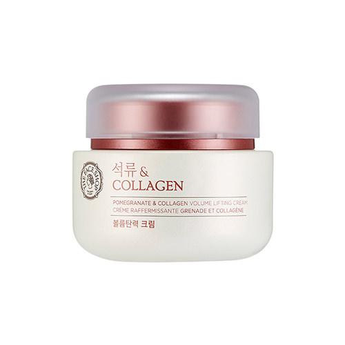 Kem Dưỡng Săn Chắc và Chống Lão Hoá The Face Shop Pomegranate And Collagen Volume Lifting Cream (Phiên bản mới 2016)
