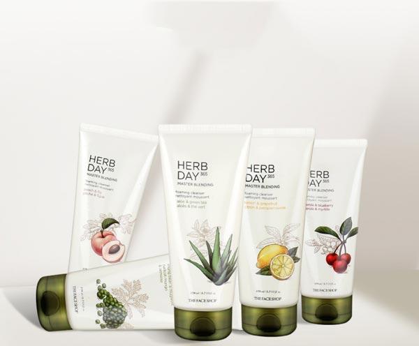 Công dụng Sản phẩm nằm trong dòng sữa rửa mặt Herb Day 365 ăn khách của Thefaceshop