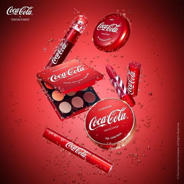 son tint the face shop x coca cola tip tint mềm mịn môi