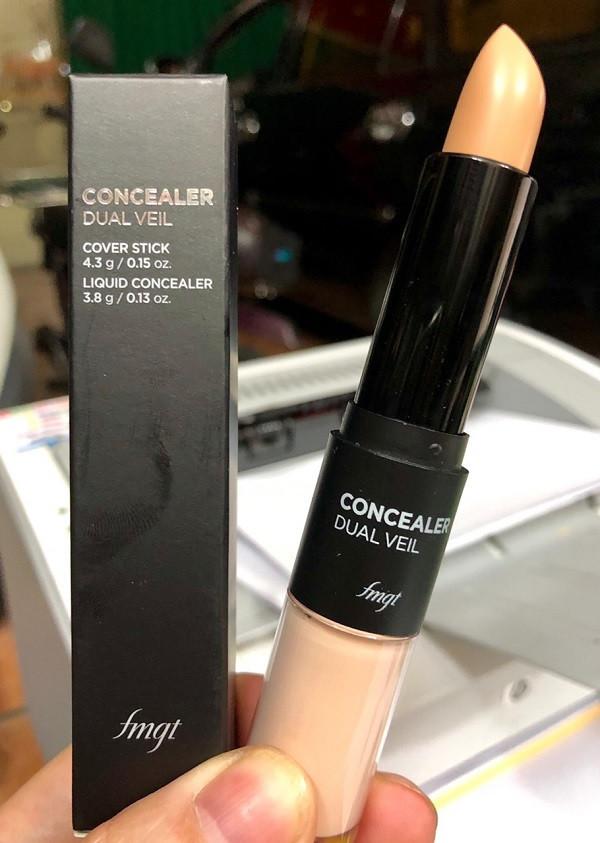 Che Khuyết Điểm Siêu Đa Năng The Face Shop Concealer Dual Veil 8.1g